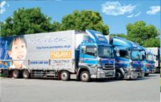 輸送プログラムの立案例