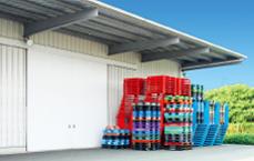 倉庫を利用した配送システム