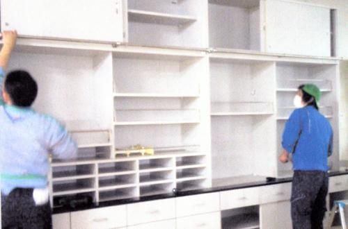 引っ越しのAZUMA オフィスの引っ越し 各保管場所では整理整頓