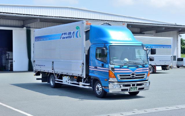 4tウイングエアサス1tパワーゲート車 株式会社AZUMA