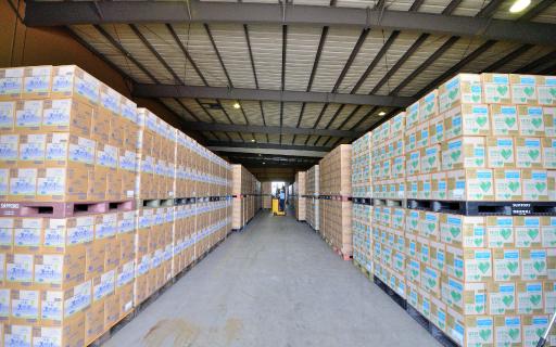 倉庫を流通センターとして活用 株式会社AZUMA