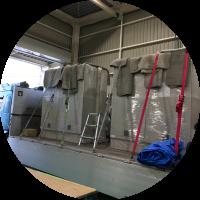 精密機械の梱包・輸送 株式会社AZUMA