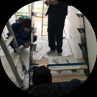 建築資材の保管・輸送・搬入・施工補助 株式会社AZUMA